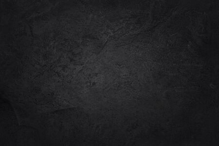Foto de Dark grey black slate texture with high resolution, background of natural black stone wall. - Imagen libre de derechos