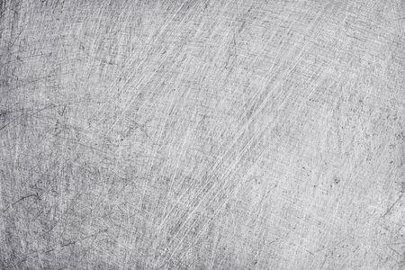 Photo pour aluminium metal texture background, scratches on polished stainless steel. - image libre de droit