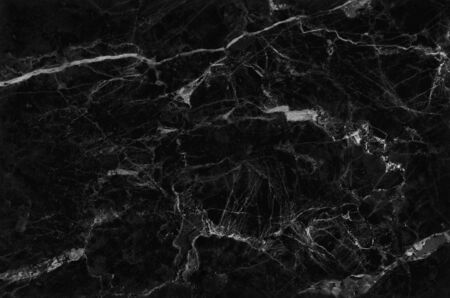 Photo pour top view of black grey marble texture background, natural tile stone floor with seamless glitter pattern for interior exterior and design ceramic counter. - image libre de droit