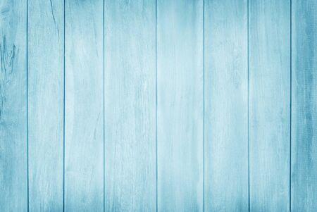 Photo pour Blue pastel wooden wall texture background with natural pattern. - image libre de droit
