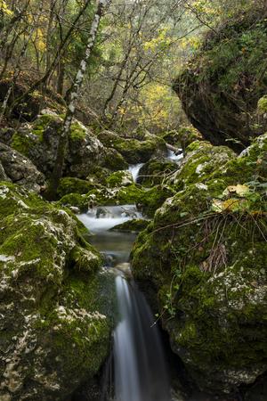 Rio Mundo source, Natural Park Los Calares of the World and Sima River, Sierra de Alcaraz and del Segura, Albacete province, Autonomous community of Castilla-La Mancha, Spain