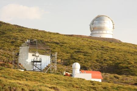 Astronomical observatory Roque de los Muchachos, La Palma, Canarias, Spain