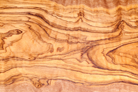 Olive tree wood slice with texture and details