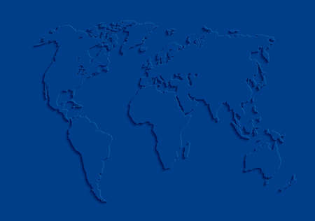 Illustration for World map. Abstract background for your design. Vector illustration. - Royalty Free Image