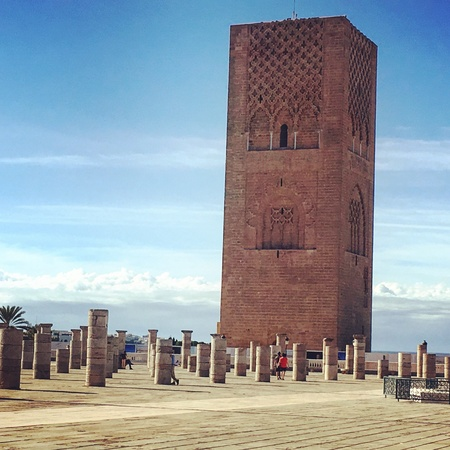Mausoleum of Mohammed V Rabat Morocco