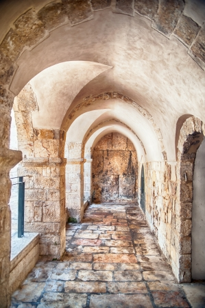 Passage in Old Jerusalem