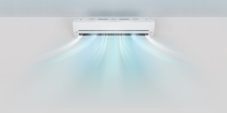 Photo for Air conditioner on wall background - Royalty Free Image