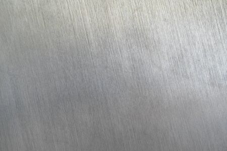 Photo pour Scratched metal texture, Brushed steel plate background - image libre de droit