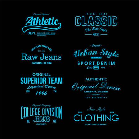 Foto für word vintage fashion vector simple design - Lizenzfreies Bild