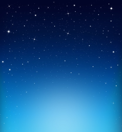 abstract starry blue backgro