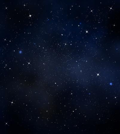 Some Stars in the night sky