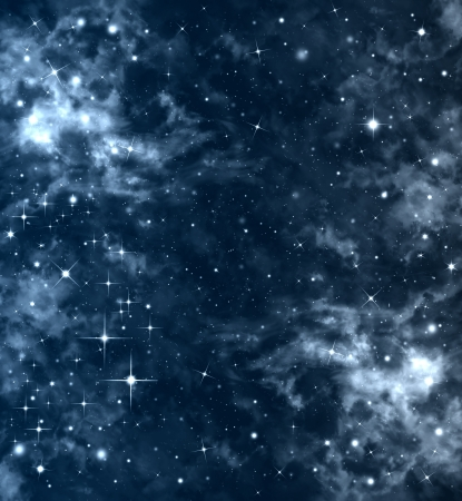 abstract beautiful starry sky deep outer space