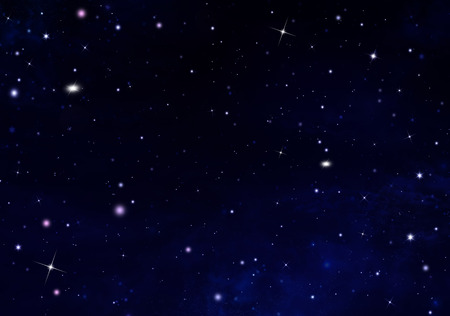 Stars In The Dark Night Sky