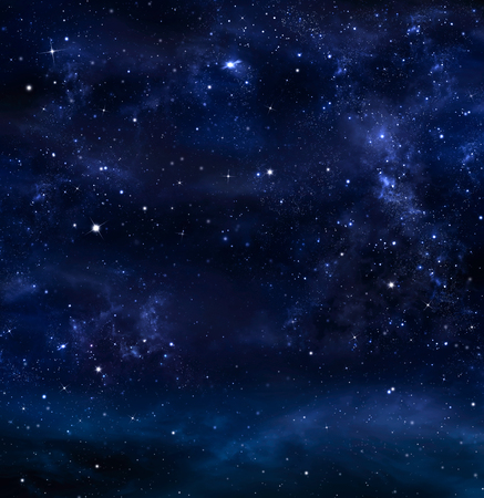 Photo for Night Sky, Milky Way, Galaxy background - Royalty Free Image