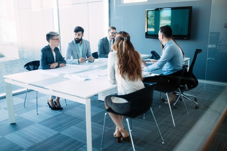 Photo for Business colleagues in conference room - Royalty Free Image