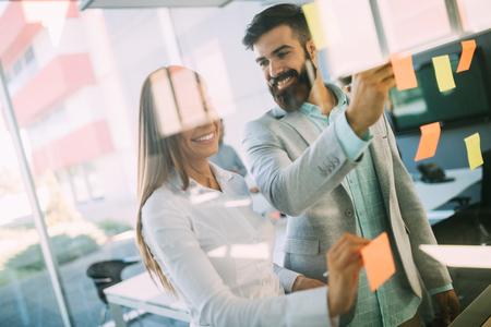 Foto für Business people planning strategy in office together - Lizenzfreies Bild