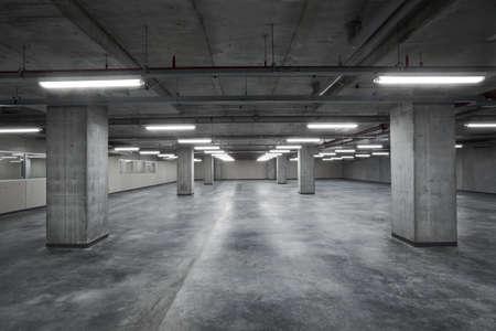Photo pour Interior of empty hall inside the factory - image libre de droit