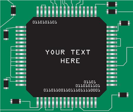 chip - vector