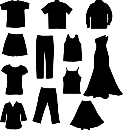 clothes - vector