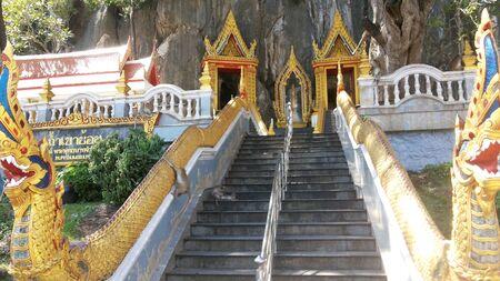 Naga on staircase