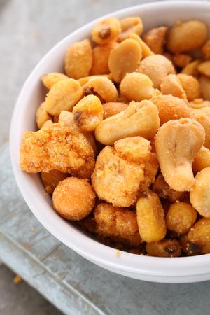 dry roasted nut snacks