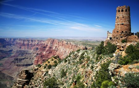 Desert View Point Watchtower, Grand Canyon National Park, Arizona
