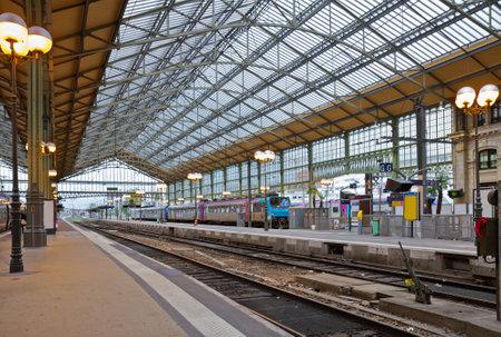 old railway station in Tours, Pays-de-la-Loire,, France