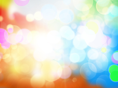 Gleaming festive birthday background with bokeh sparcle