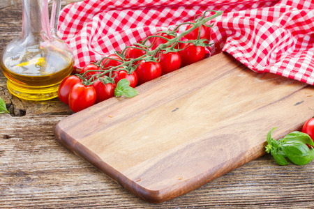Photo for empty cutting board - Royalty Free Image