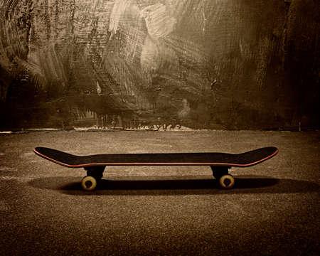 Sepia Grunge Skateboard