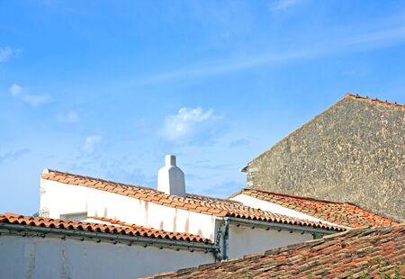 Saint Martin de R roofs La Rochelle France