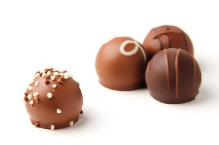 Photo pour Chocolate Gathering - image libre de droit