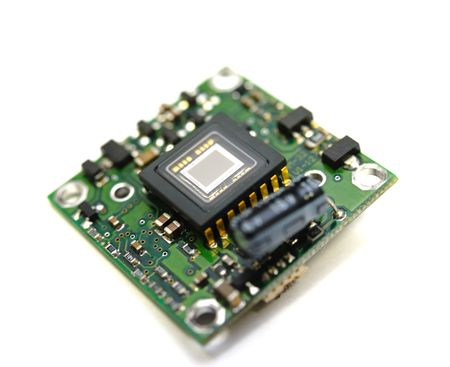 Photo pour Video sensor control of the digital minichamber of system of video observation - image libre de droit