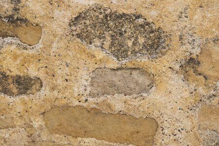 Photo pour Background of floor with texture and stones. - image libre de droit
