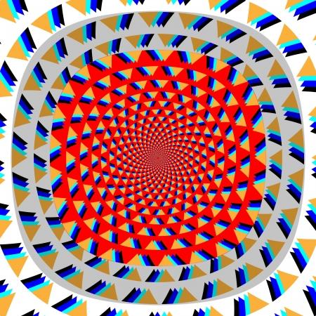 Anti-gravity       motion illusion