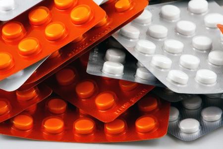 Blister Packs Of Pills