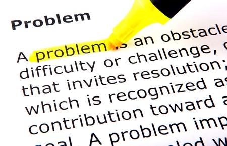 Foto de Problem - Imagen libre de derechos