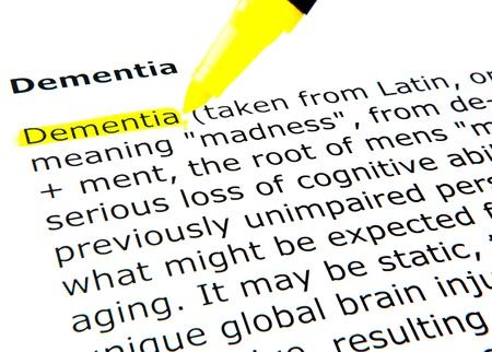 Foto de Dementia - Imagen libre de derechos
