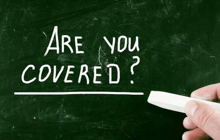 Foto de are you covered? - Imagen libre de derechos