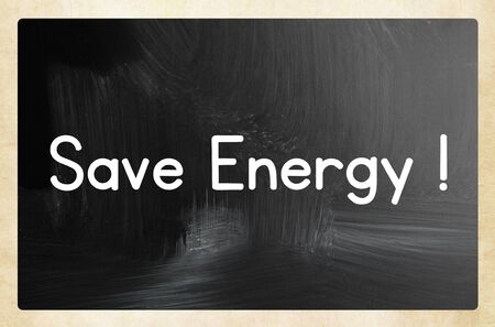 Foto per save energy concept - Immagine Royalty Free