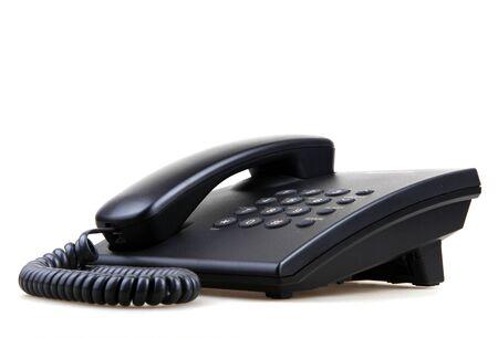 Photo for Telephone Isolated - Royalty Free Image