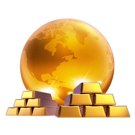 Gold marketing world bussiness