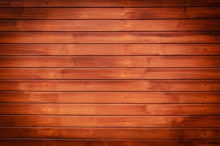 Wood texture background in horizontal pattern, dark brown color