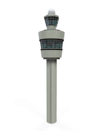 Air Tower Control Isolated