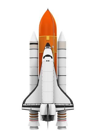 Foto de Space Shuttle Isolated - Imagen libre de derechos