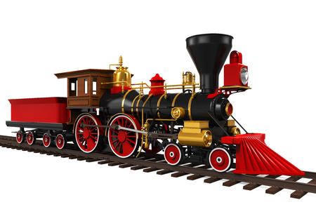 Foto de Old Locomotive Train - Imagen libre de derechos