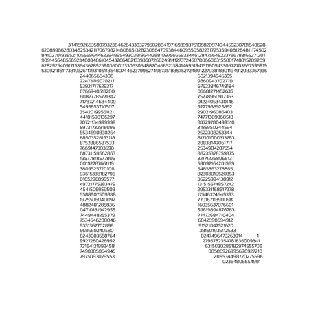 Pi day poster, Graph grid paper background