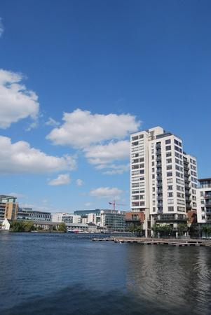 the city of dublin, ireland