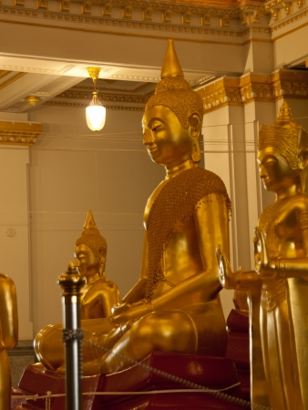 Symbolic representation of the Buddha statue, which was jointly established by the public to respect the sacred to Buddhists