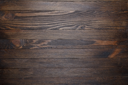 Wooden table background top view